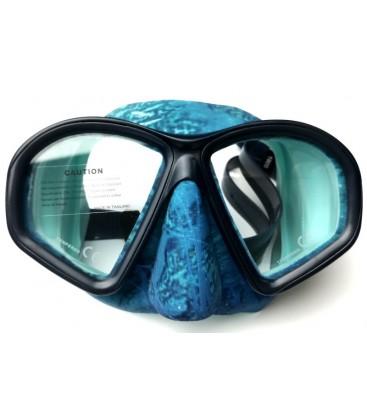 Mask COVERT Camo, Ocean Blue