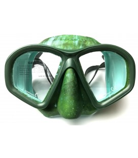 Mask COVERT Camo, Ocean Green
