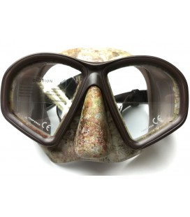 Mask COVERT Camo, Ocean Brown