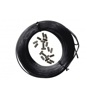 25m*1.8mm monofilament + 10 klambrit
